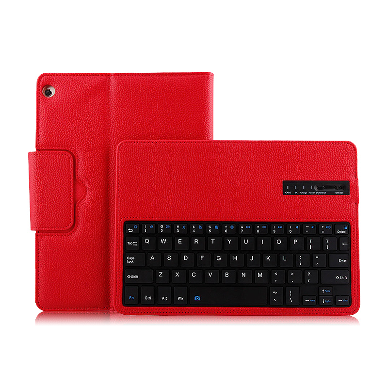 Case For Huawei Mediapad M3 lite 10 BAH-W09 AL00 10.1 Tablet PC Wireless Bluetooth keyboa Protective Cover PU Protector Leather luxury pu leather cover business with card holder case for huawei mediapad m3 lite 10 10 0 bah w09 bah al00 10 1 inch tablet