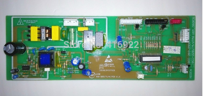 95% new good working 100% tested for Midea refrigerator pc board motherboard control board BCD283UTM on sale rsag7 820 4737 roh led39k300j led40k160 good working tested