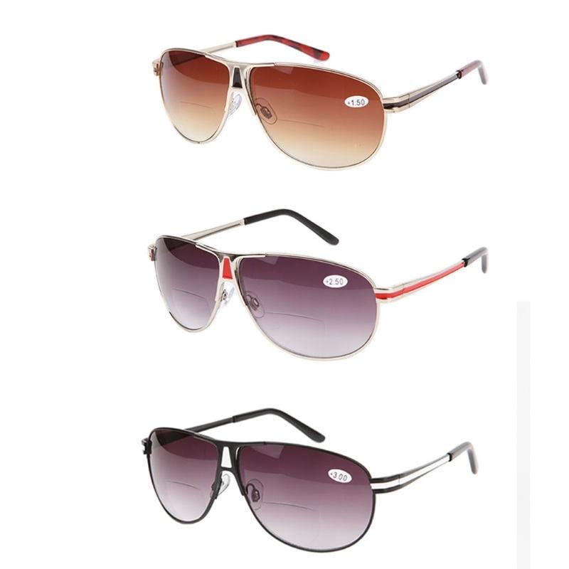 0057cb33f Clássico Das Mulheres Dos Homens do vintage Óculos Bifocais Óculos de  Leitura + 1.0 a + 3.5 óculos de Sol Unissex