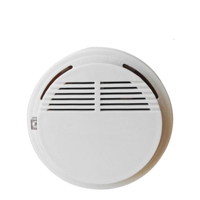 Fire prevented detector/smoke or gas alarming sensor available for both wired and wireless connection for indoor security
