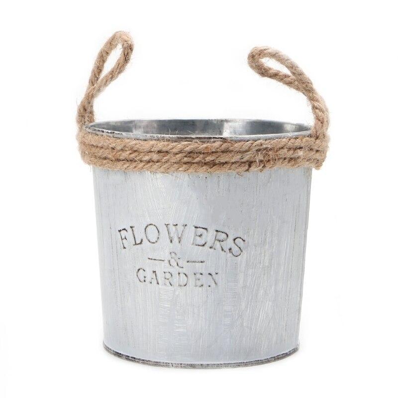 Iron Flower Garden Vase