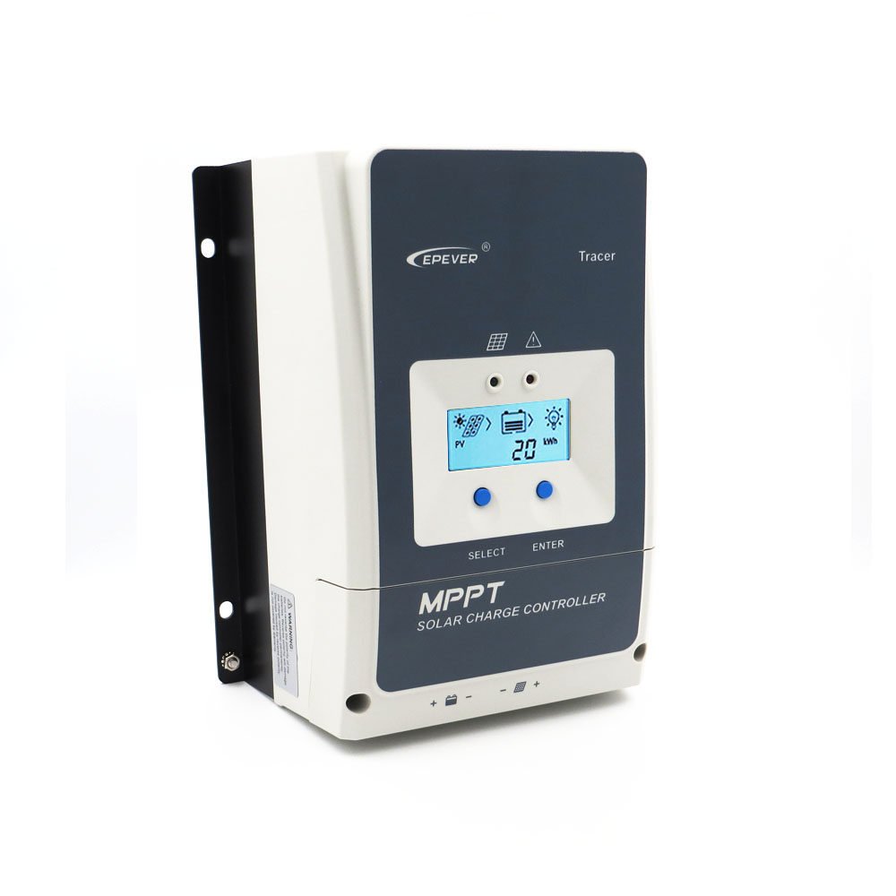Système d'énergie solaire hors réseau MPPT contrôleur de Charge solaire 10/20/30/40/50/60/80/100A chargeur régulateur panneau de cellules solaires traceur