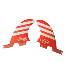 FCSII GL Surfboard Blue/Red color Honeycomb Fins Twin fin set FCS 2 Fin Hot Sell II Quilhas