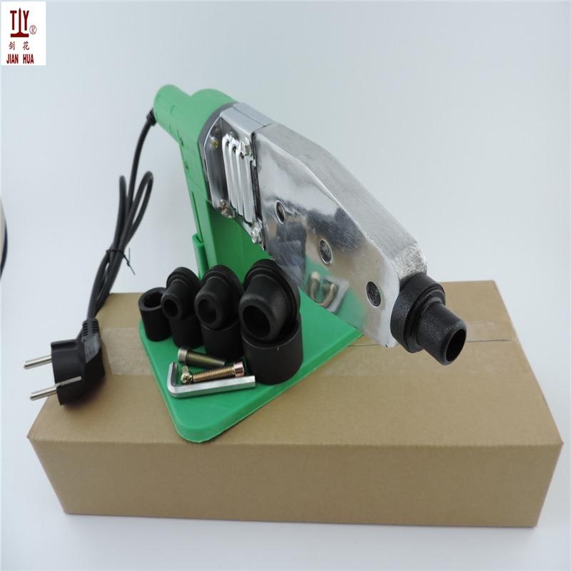 Free Shipping  16-32mm 4pcs die heads PPR Tube Pipe Welding Machine Plastic Pipe WelderAC 220 110V  PPR  PE   PP pipe welding