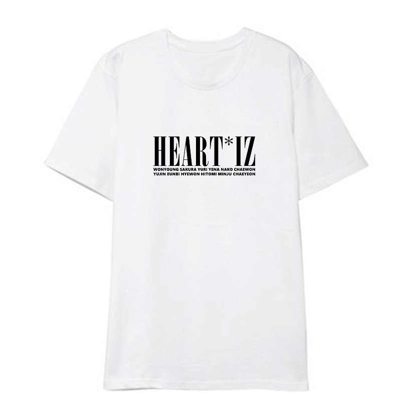 Detail Feedback Questions about Kpop IZONE HEARTIZ Album Shirts Hip