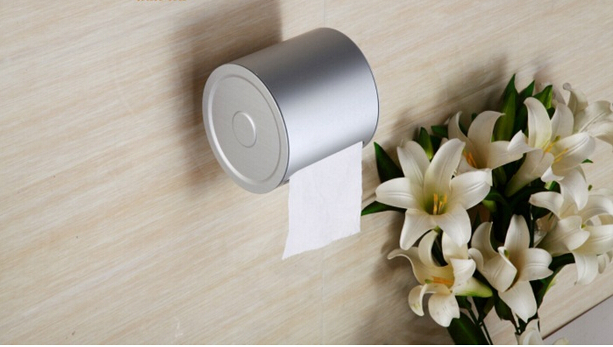 Wall Mounted Single Toilet Paper Holder,Holder for Toilet Paper,Paper roll Holder,Tissue holder Bathroom Accessories-Whole sale everso wall mounted toilet paper holder with shelf stainless steel toilet roll paper holder tissue holder bathroom accessories