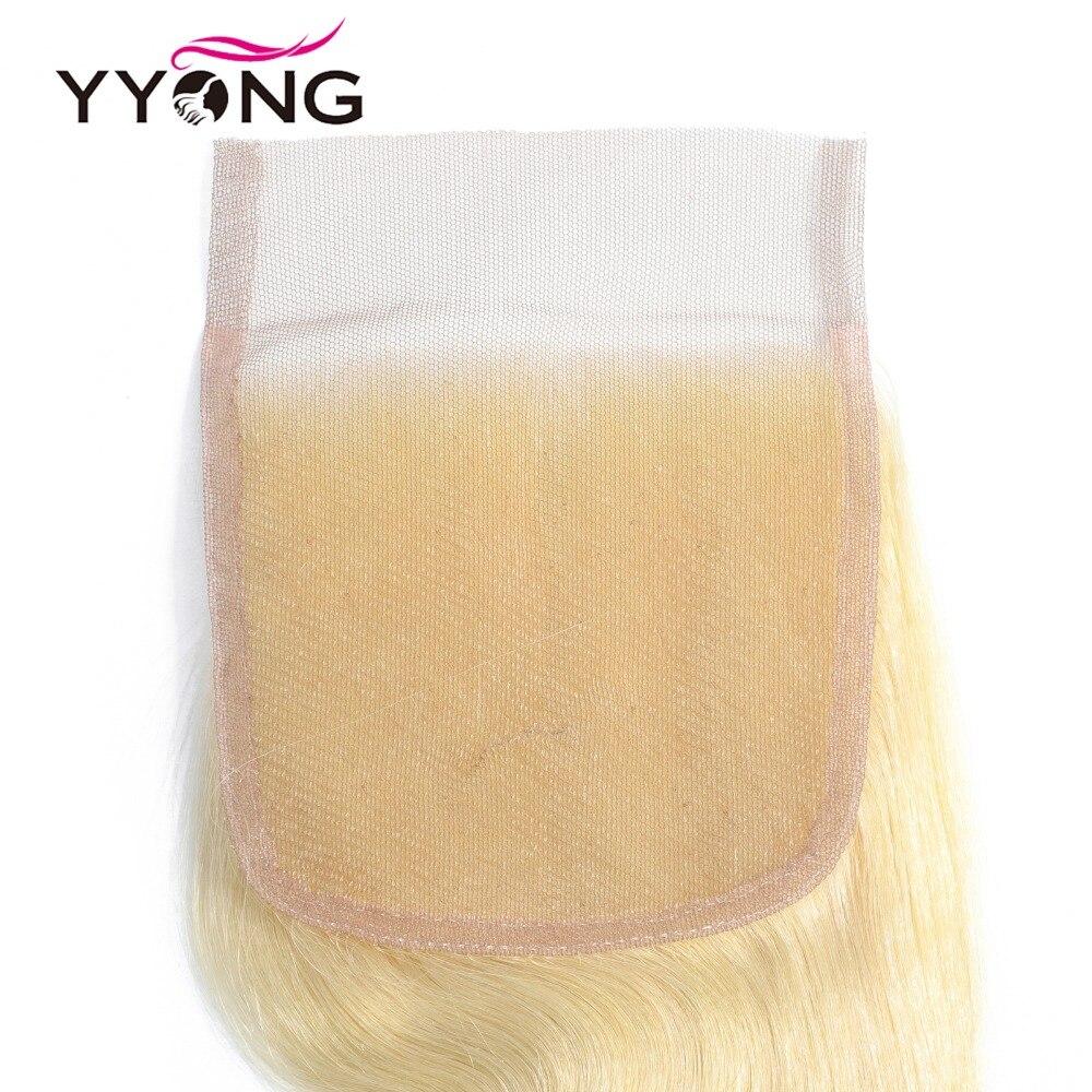 Yyong 613 Bundles With Closure  Body Wave  Blonde Bundles With Closure Lace Closure With Bundles 4Pc/Lot  5