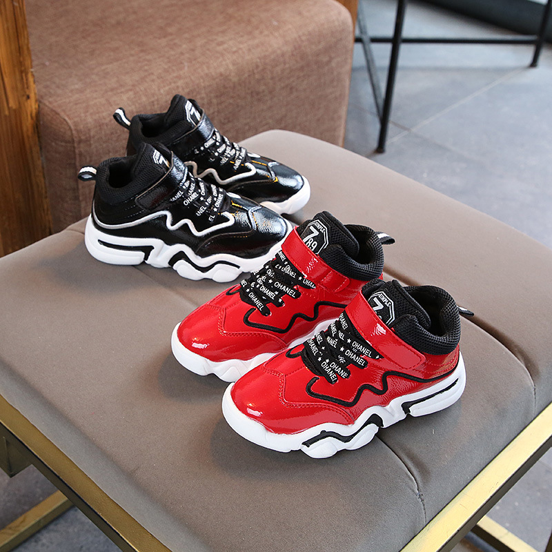 Childrens Sports Shoes Boys Casual  Fashion Shoes Autumn and Winter New Leather Girls SneakersChildrens Sports Shoes Boys Casual  Fashion Shoes Autumn and Winter New Leather Girls Sneakers