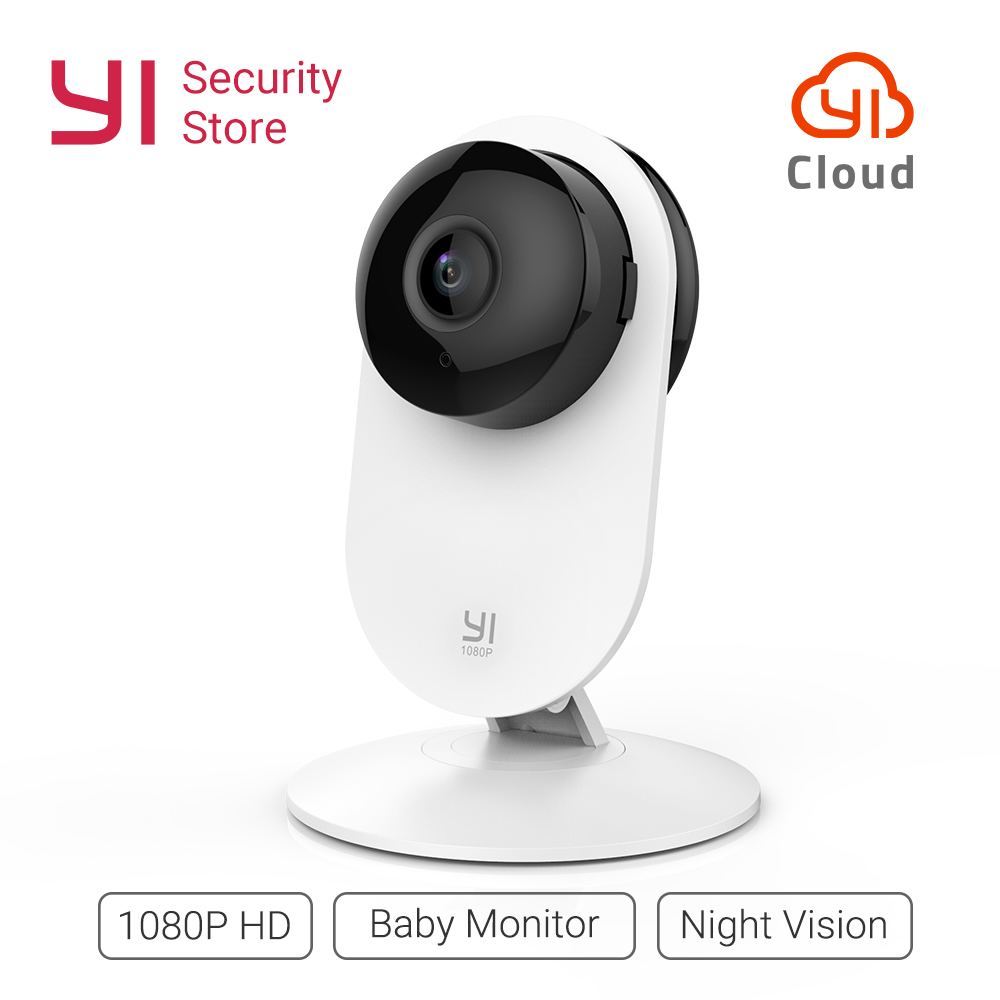 YI Home камера 1080 P видеоняни и радионяни беспроводной IP Wi Fi безопасности системы скрытого видеонаблюдения ночное видение облако международна...