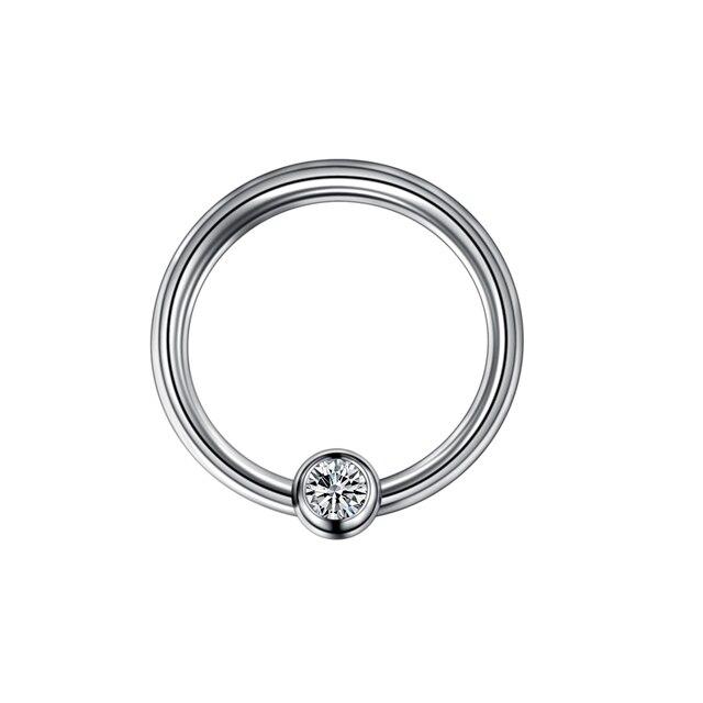 1PC Titanium Nose Rings...