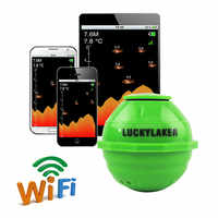 Lucky WiFi Wireless Fish Finder 50M 12 Languages Sonar Fishfinder APP Android IOS Sea Fish Detect Finder sonar for fishing #C5