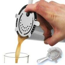 1 шт. Бармен Коктейль барный шейкер проволока смешанный лед для напитков сито из нержавеющей стали фильтр Cockltail Бар инструменты дропшиппинг
