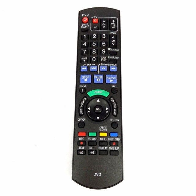 Kullanılan orijinal uzaktan kumanda Panasonic N2QAYB000293 DMR XW400 DMR XW390 DMR XW390GLK N2QAYB000339 DVD kaydedici Fernbedienung