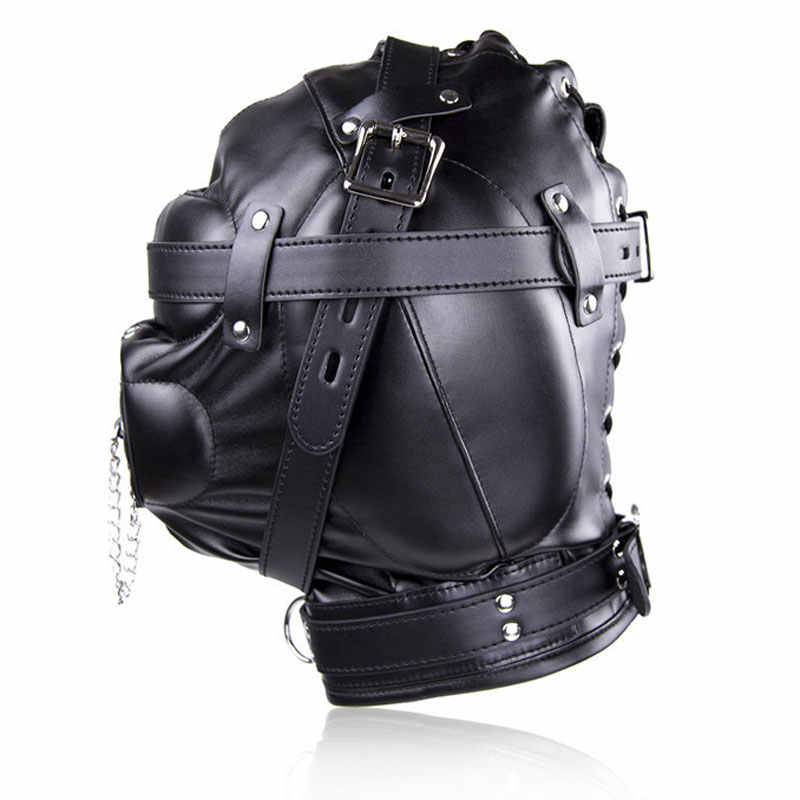 Leather bondage helmets — pic 11