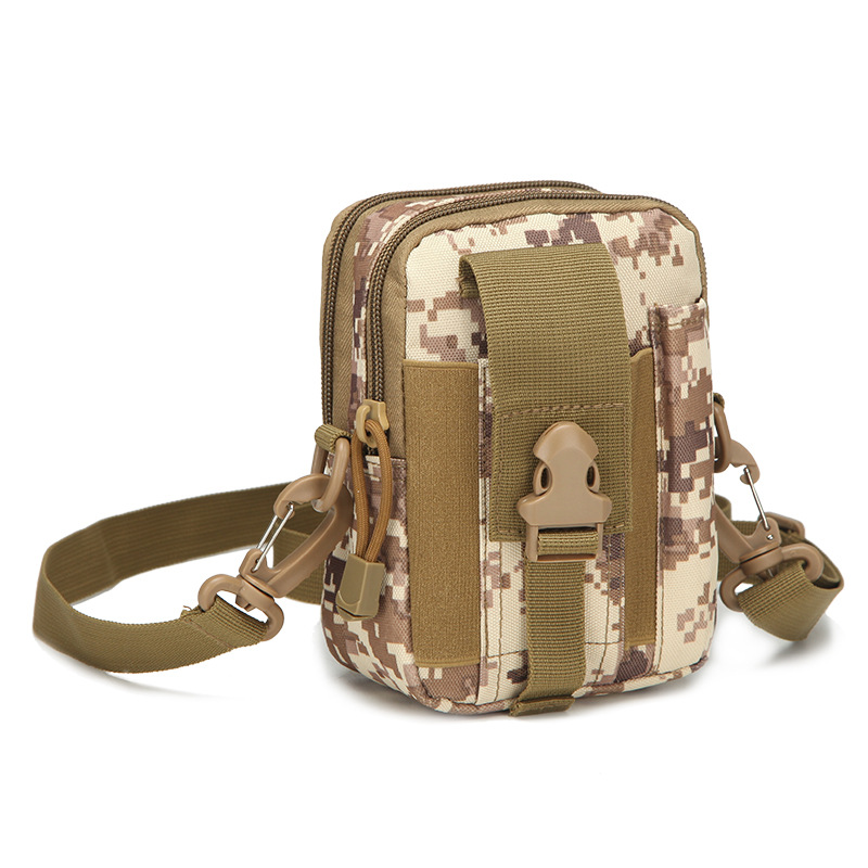 Nylon Big Capacity MOLLE Holster EDC Carry Accessory Tool Waist Bag Belt Pack Pouch Case with Shoulder strap