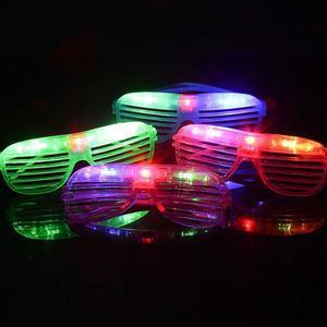 LED Flashing Luminous Glasses Glowing Ey