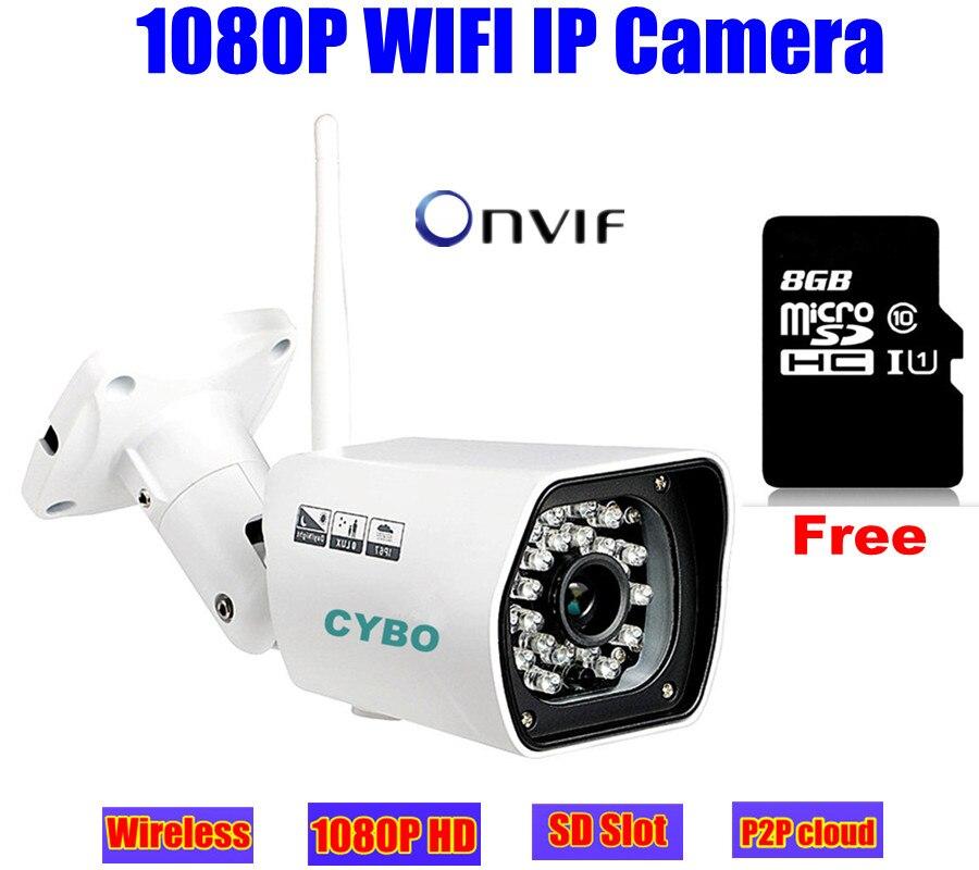 wireless cctv IP font b camera b font 1080p HD sony cmos Megapixel 2mp WIFI font