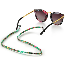 Retro eyeglass sunglasses cotton neck string cord retainer strap eyewear lanyard holder with good silicone loop 6 colors option