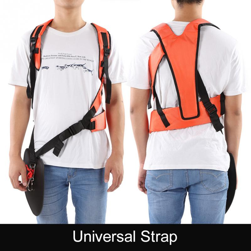Universal Trimmer Shoulder Single Double Shoulder Strap Mower Nylon Y-shaped Belt for Brush Cutter Garden Tools Wholesale