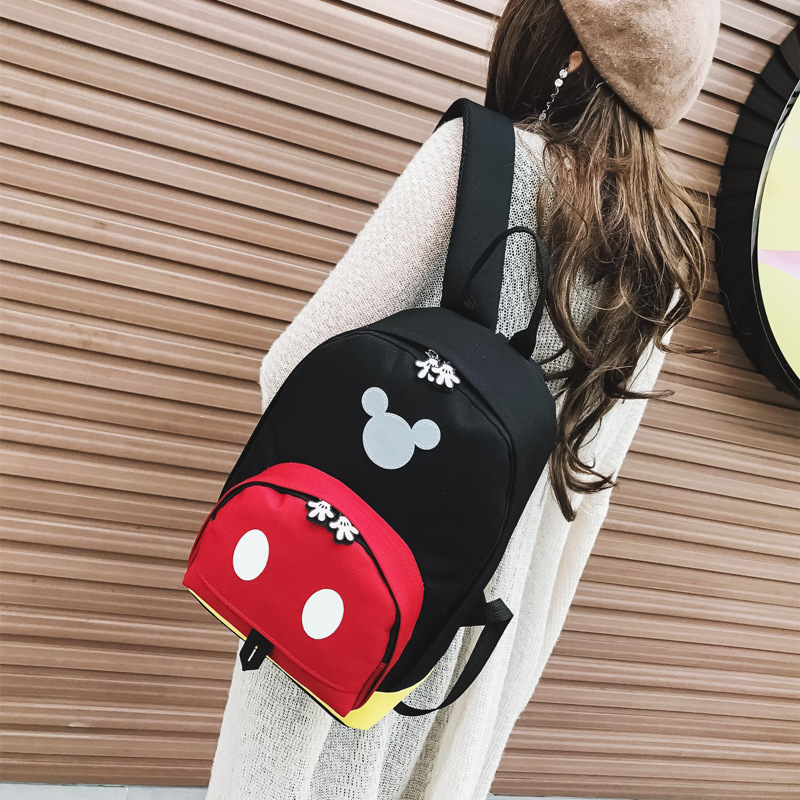 Casual Backpack Kids 3-6Y Children Small Backpack 2018 Zipper Cute Mini Backpack Patchwork Color Back Pack for Kids