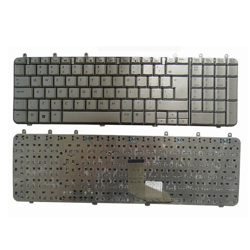 Brand New English Keyboard for HP for Pavilion DV7 DV7-1000 UI laptop KEYBOARD SILVER brand new black laptop keyboard 530644 ad1 531850 ad1 pk1306t1d05 for hp pavilion dv3 korea 100