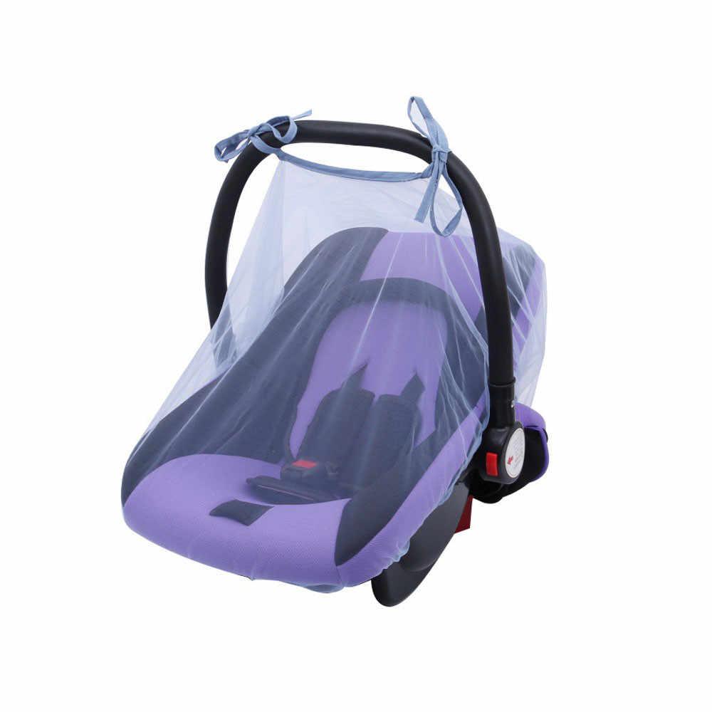 ใหม่ที่นั่งเด็กยุงสุทธิ 1PC เด็กที่นั่งยุงสุทธิ New Born ผ้าม่านรถแมลง Netting Canopy ฝาครอบ