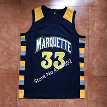 bb85d8a8c 2019 New #33 Jimmy Butler Marquette Golden Eagles College Basketball Jersey  Stitched(China)