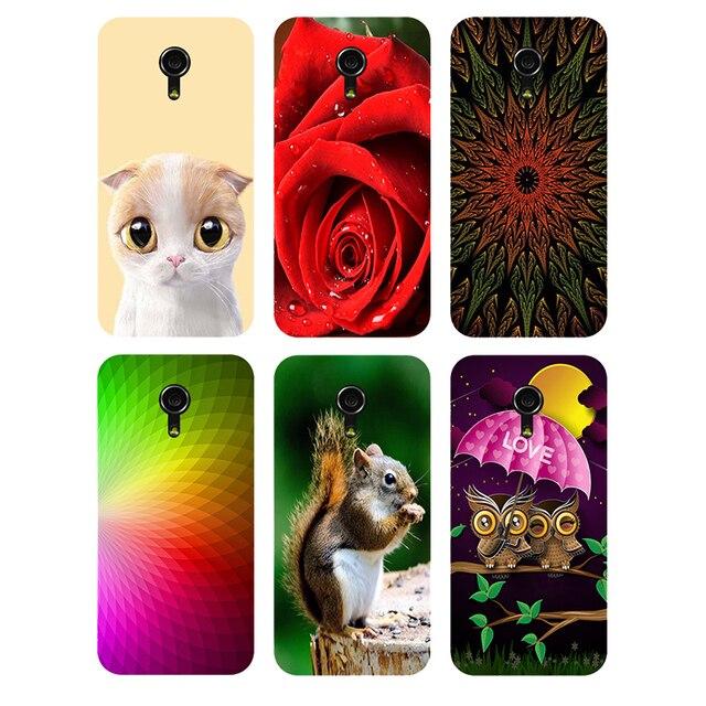 sports shoes c77b7 f00f5 US $2.55 29% OFF|Case For Motorola Moto G2 G 2nd Gen XT1063 XT1068 XT1069  Back Cover Flower Original Plastic Printed Cat Owl Animal Phone Case-in ...