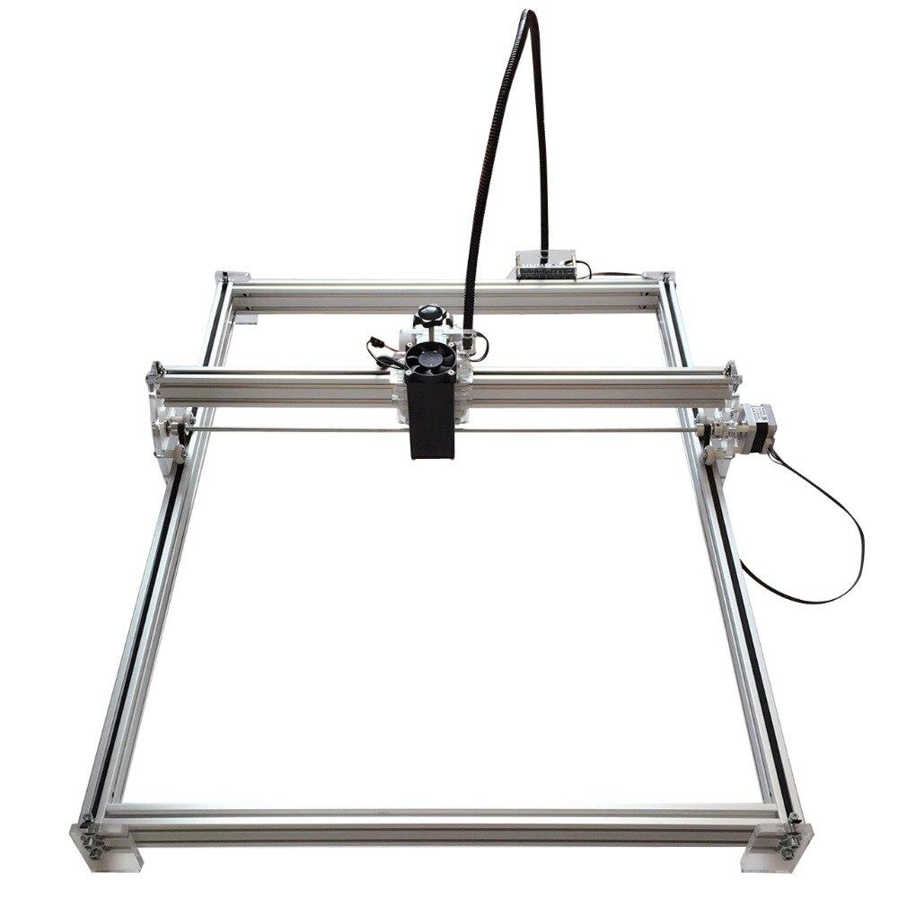 15 w Mini bureau bricolage Laser gravure graveur machine de découpe marque sur métal 100*100 cm grand worke zone laser cutter 10 w, 15 w - 3