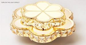 Image 3 - Ledクリスタルシャンデリアバルコニーライト売り場ライト円形入り口廊下灯スポットライトメーカーランプFD 116