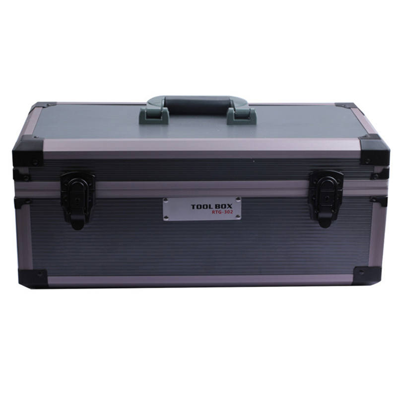 480x220x210mm Aluminum Tool Case Suitcase Toolbox Instrument Box Impact Resistant Safety Case Tool Storage Large