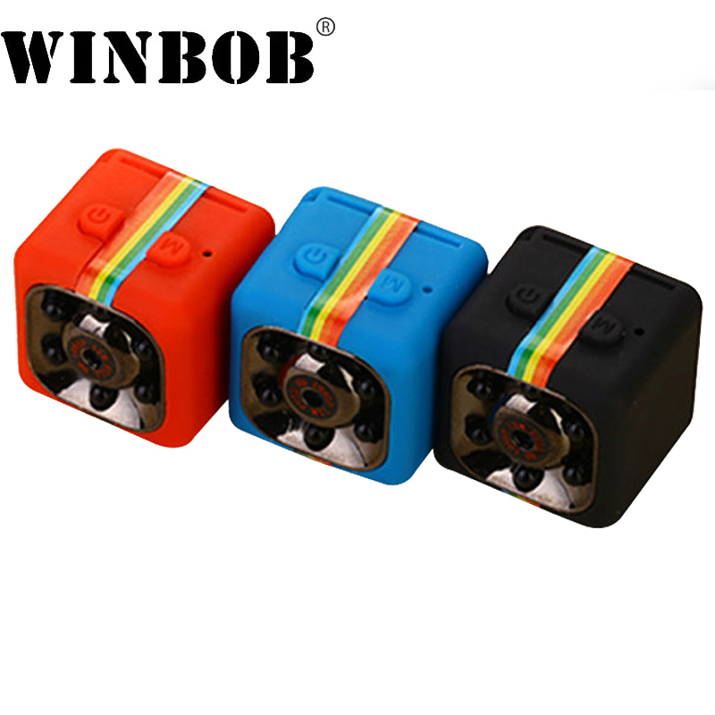 WINBOB Mini Caméra Caméscope HD 1080 p Secret Kamera Night Vision Motion Detection Camara Sport DV Voix Vidéo Enregistreur