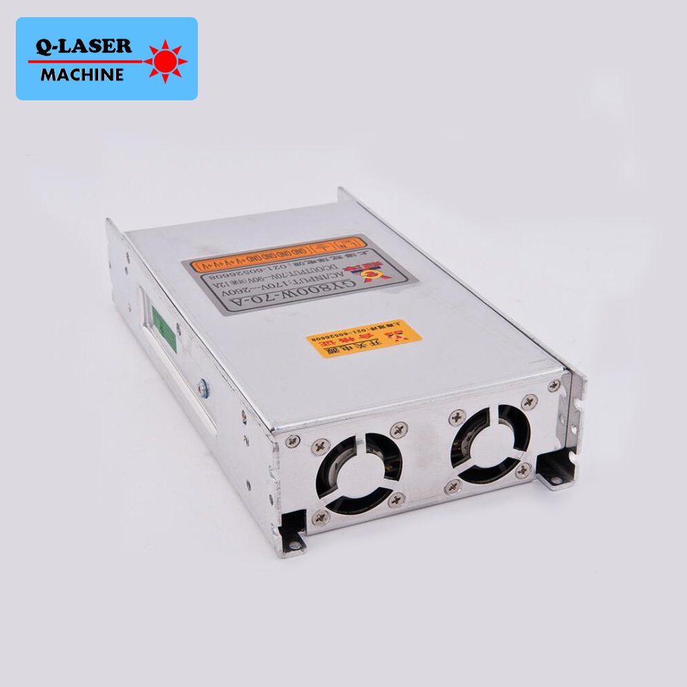 Guanyang Switch Power Supply 70V 12A 800W for Stepper Motor Driver CNC Laser Engraving Cutting Machine Parts GY800W-70-A leadshine 2 phase stepping motor drive ma860h for laser engraving cutting machine stepper motor driver