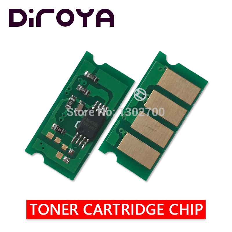цена на 8PCS SPC220 Toner Cartridge chip For Ricoh Aficio SP C220 C220s 220s 222dn C222 C240dn C240 240dn 240sf printer powder reset