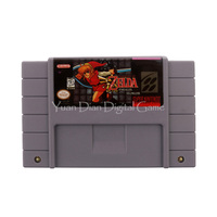 Nintendo SFC SNES Video Game Cartridge Console Card The Legend Of Zelda Parallel Worlds USA English