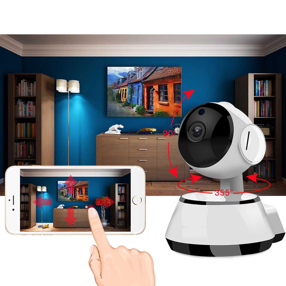 Главная видеонаблюдения Камера Wi-Fi ip-безопасности Камера Видеоняни и радионяни Wi-Fi Беспроводной ИК-Ночное видение сети ip ptz Cam