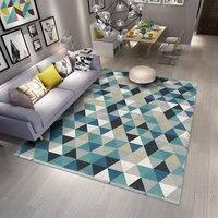 Brief Polypropylene Carpets For Living Room Home Decor Bedroom Carpet Sofa Coffee Table Rug Study Floor Mat Europe Rugs Mats