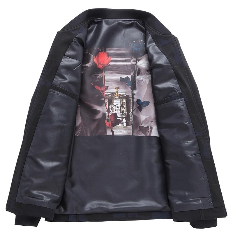 Новый Большие размеры 8XL 7XL 6XL 5XL 4XL куртка Для мужчин модные Повседневное свободные Для мужчин s куртка спортивная Курточка бомбер Для мужчин s Куртки и пальто - 6