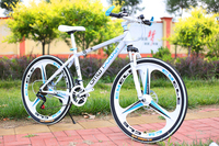 Fast ship!Mountain bike 26 inch steel 24 speed High carbon steel dual disc brakes variable bikes sports bike road bicycle
