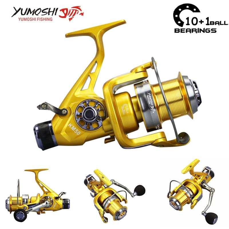Lieyuwang 10+1BB 5.2:1 Bait Casting Fishing <font><b>reel</b></font> Feeder Carp Fishing <font><b>Reels</b></font> everything Carretilha de pesca molinete Abu garcia