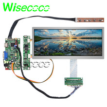 Original 10.3 inch 1920x720 HSD103KPW2 A10 TFT LCD screen display with HDMI VGA controller board for car replacement display(China)