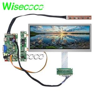Oryginalny 10.3 cal 1920x720 HSD103KPW2 A10 ekran TFT LCD wyświetlacz z HDMI VGA płyta kontrolera do samochodu wyświetlacz zastępczy