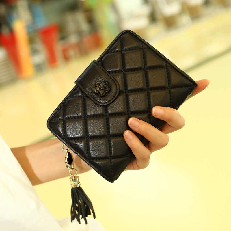 Women Leather Fashion Wallet Soft Touch Genuine Leather Top Quality Sheepskin Wallet Female Coin Purse Luxury Hot Sales