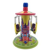 Жестяная ностальгическая детская игрушка фотография Реквизит поворотный стол