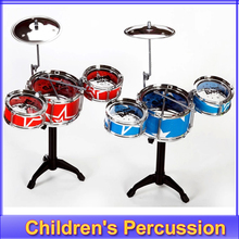 free shipping Christmas gift Children's toys Children learn music toys drums a set of drum Children's Percussion