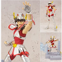 Original KidsLogic Yamato Cosmos Burning Gold Collection Saint Seiya Leo Aiolia Action Figure