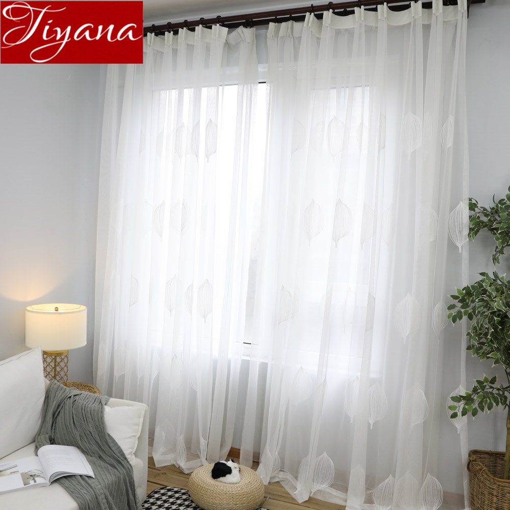 Us 4 21 33 Off White Curtains For Living Room Hot Air Balloon Tulle Curtain Window Bedroom Treatment Kitchen Fabrics Sheer D T 063 30 In