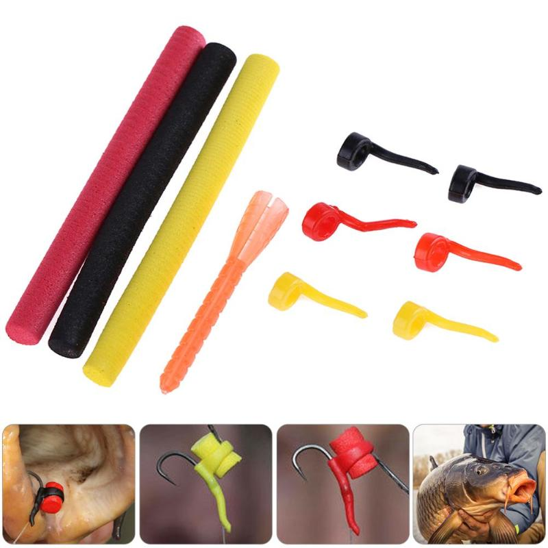 New 10pcs Carp Fishing Lures DIY Materials Sleeve+Foam Pop Up Baits for Zig Aligna Kit for Outdoor Carp Fish Tackle Accessories wifreo 30pcs bag soft fake floating tiger nut bait pop ups scorpion carp rig pop up rig big carp fishing tackle s m