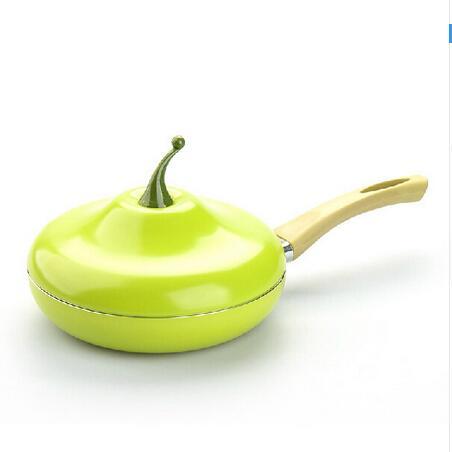 №creative Pear Frying Pan Saucepan Saucepan Ceramic Pan