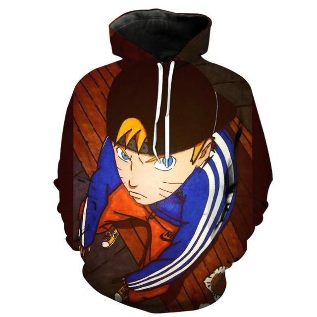 Naruto Hoodies Men 3D Printed Pullovers Sportswear Sweatshirts 2018 Spring male Hoodie Naruto cosplay Long sleeve clothing   5
